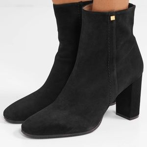 STUART WEITZMAN Solo Stretch Suede Ankle Boot